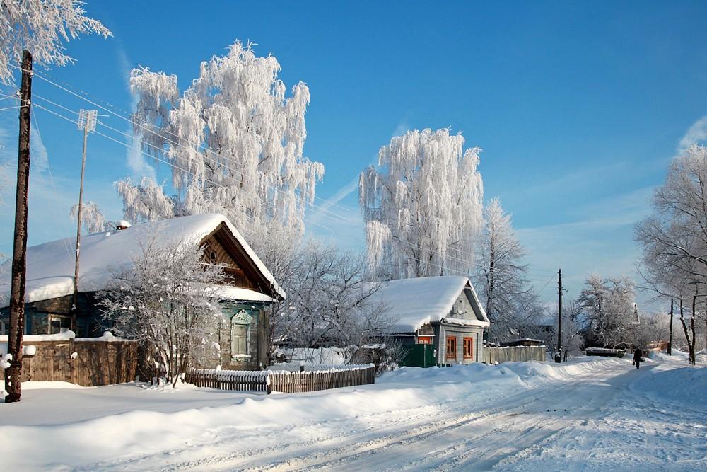 A Russian village