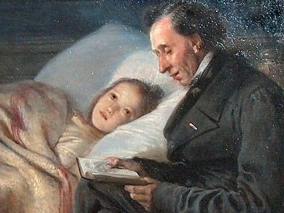 Ганс Христиан Андерсен сказки для чтения детьми взрослым