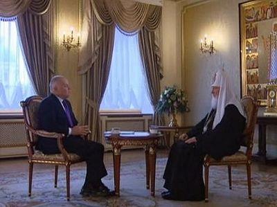 Рождественское интервью телеканалу «Россия»