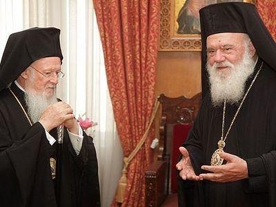 Архиепископ Афинский Иероним испытывает давление со стороны Константинопольского патриархата