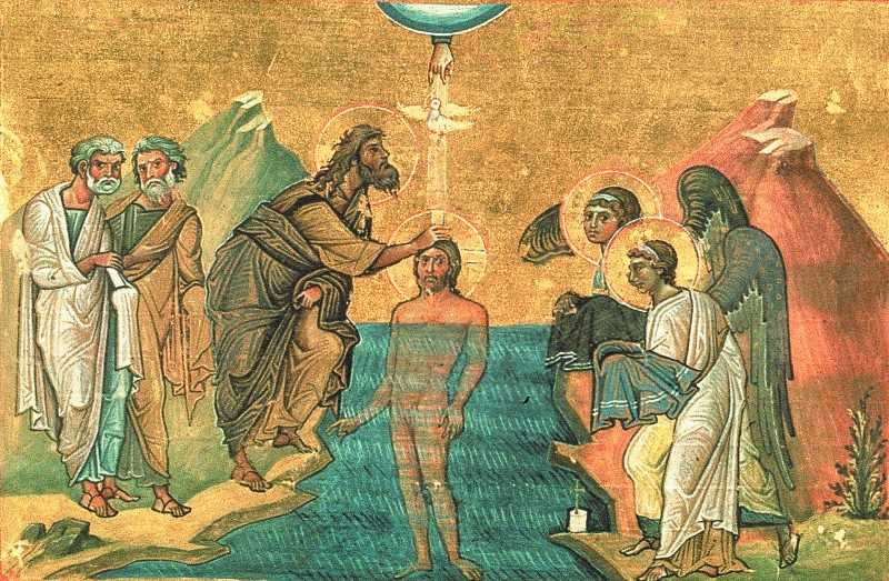 The Baptism of our Lord.