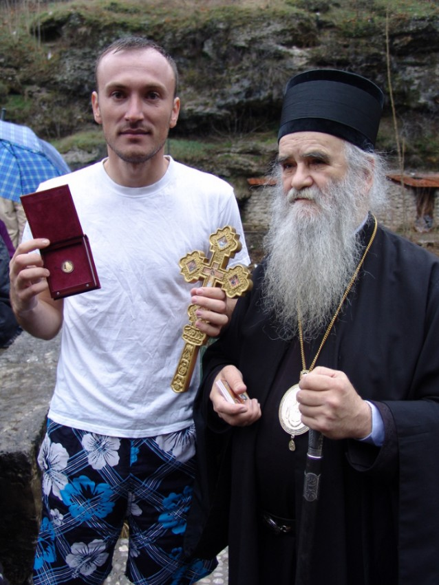 Черногория, митрополит Афмилохий – тоже с победителем