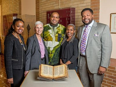 Howard Divinity School returns sacred Ethiopian manuscript to Orthodox monastery