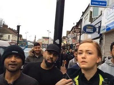 Британия: «Христианский патруль» едва не подвергся нападению в исламском квартале