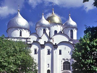 St. Sophia's Divine Wisdom over Novgorod