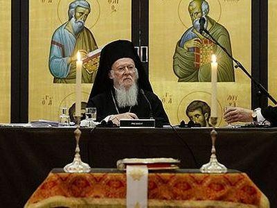 Опубликован доклад Константинопольского патриарха на Всеправославном собрании в Шамбези