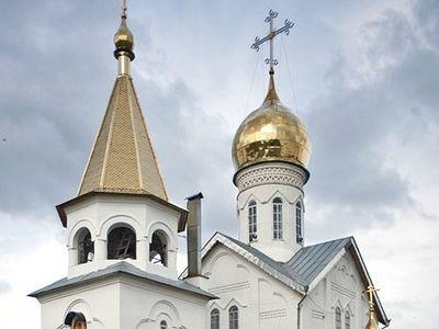 Kholki: Cave monastery in the chalk cliffs of Belgorod