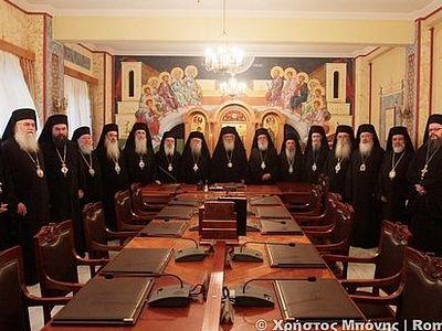 Отношения между Константинопольской и Элладской Церквами становятся более напряженными
