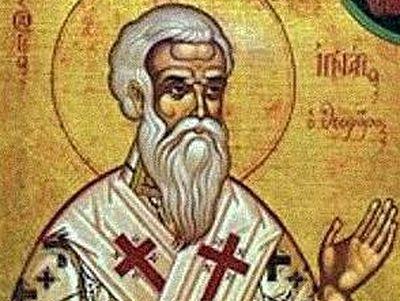 Homily of St. Ignatius the God-bearer
