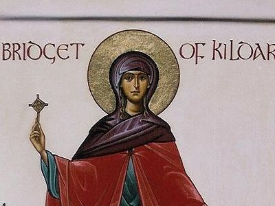 A Gift of Hospitality—Saint Brigid, Abbess of Kildare