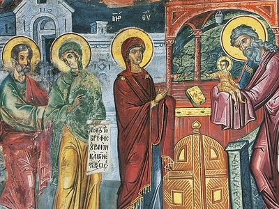 Homily On the Meeting of the Lord and the Purification of the Panagia
