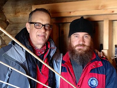 Actor Tom Hanks visits Orthodox church in Antarctica