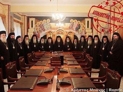 С 8 по 10 марта в Греции пройдет Священный Синод Элладской Церкви