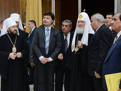 Patriarch Kirill honors memory of Russian volunteers who fell in Chaco War and meets with compatriots in Asuncion