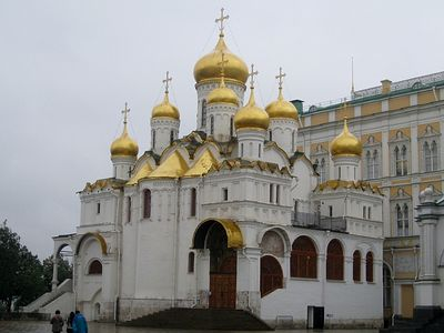 Off The Beaten Trail: The Assumption and Annunciation Cathedrals of Moscow's Kremlin