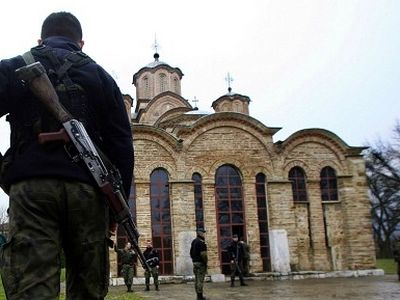 Kosovo Serbs Back Appeal for Church Fund
