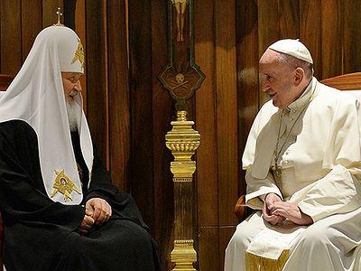 Ответы епископа Егорьевского Тихона на вопросы РИА-Новости о встрече Патриарха Кирилла и папы Франциска