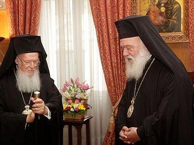 Отношения между Константинопольской и Элладской Церквами продолжают накаляться