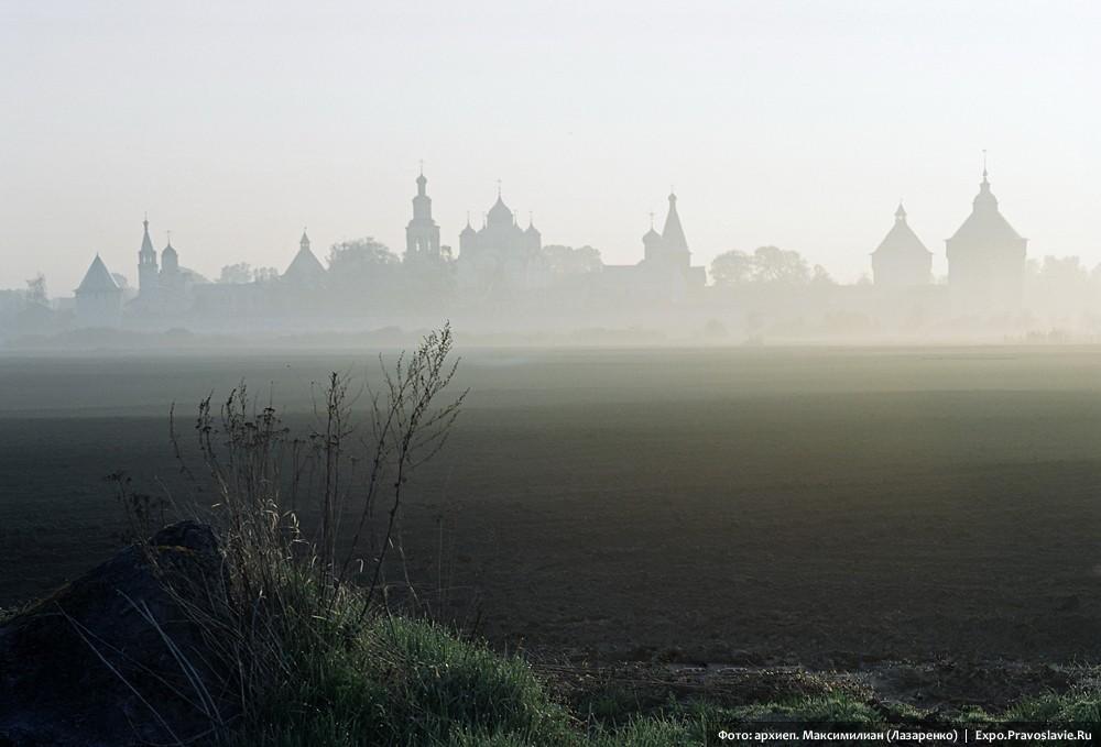 Спасо-Прилуцкий-монастырь.Туман