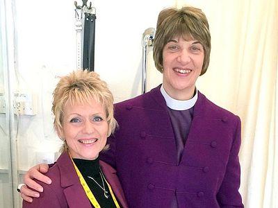 Женщина-епископ в Британии обратилась к дизайнеру, чтобы сделать облачения более женственными