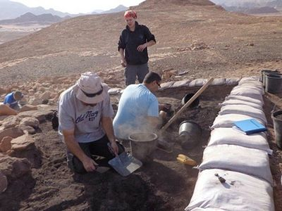 Archaeologists Dig up Fabrics Dating Back to Kings David and Solomon