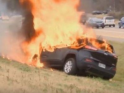 США: в сгоревшем автомобиле уцелела только Библия