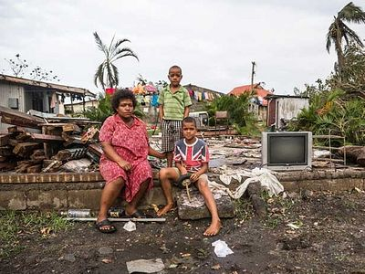 IOCC Responds To Families Devastated By Cyclone In Fiji