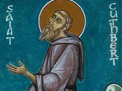 Saint Cuthbert of Lindisfarne, Wonderworker