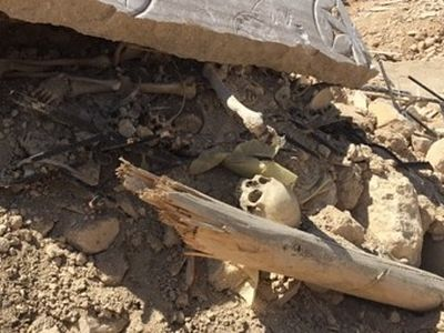 Bones of a Christian saint uncovered in rubble of ISIS-destroyed monastery