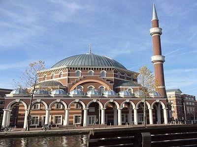 Турки строят в Амстердаме мечеть, которую называют «Святая София»