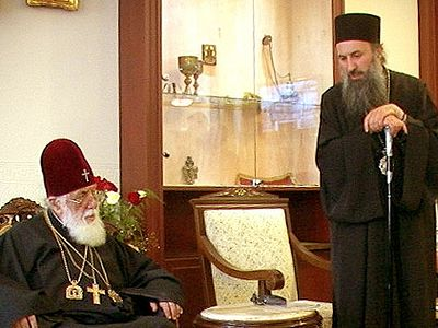 Georgian Church Responds to Ecumenical Patriarchate Cleric's Accusations