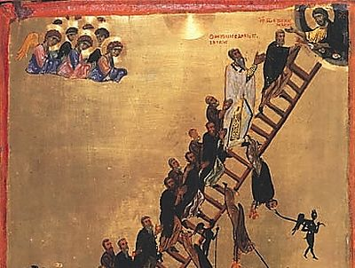 Climbing Up by Moving Down: Homily for the 4th Sunday of Lent in the Orthodox Church