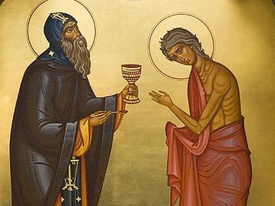 Всенощное бдение в Сретенском монастыре накануне 5-й Недели Великого поста