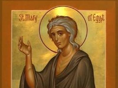 Humble Repentance or Paralyzing Guilt?: Homily on St. Mary of Egypt for the 5th Sunday of Lent in the Orthodox Church