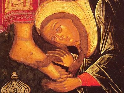 "Holy Wednesday: ""Deliver me from the filth of my works"""