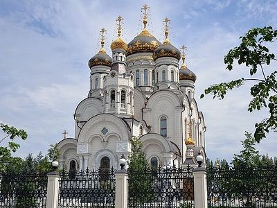 First Liturgy celebrated in unique Donbass church whose construction was interrupted by war