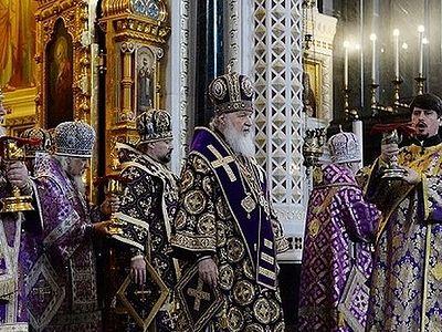 Проповедь в Великий Четверг после Литургии в Храме Христа Спасителя