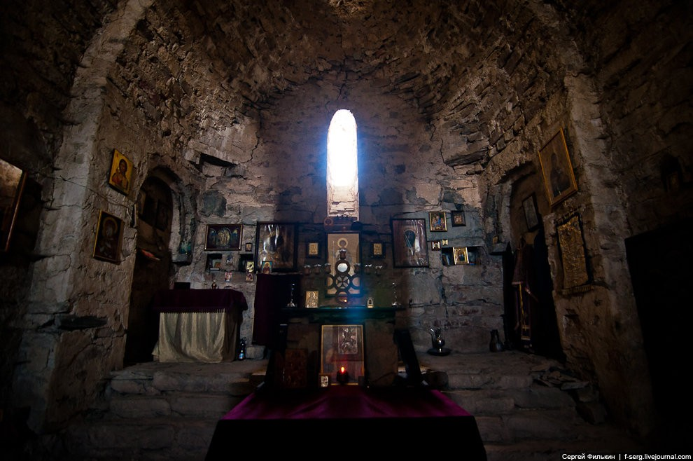 Монастырь вмч. Георгия. Ломиси, Грузия