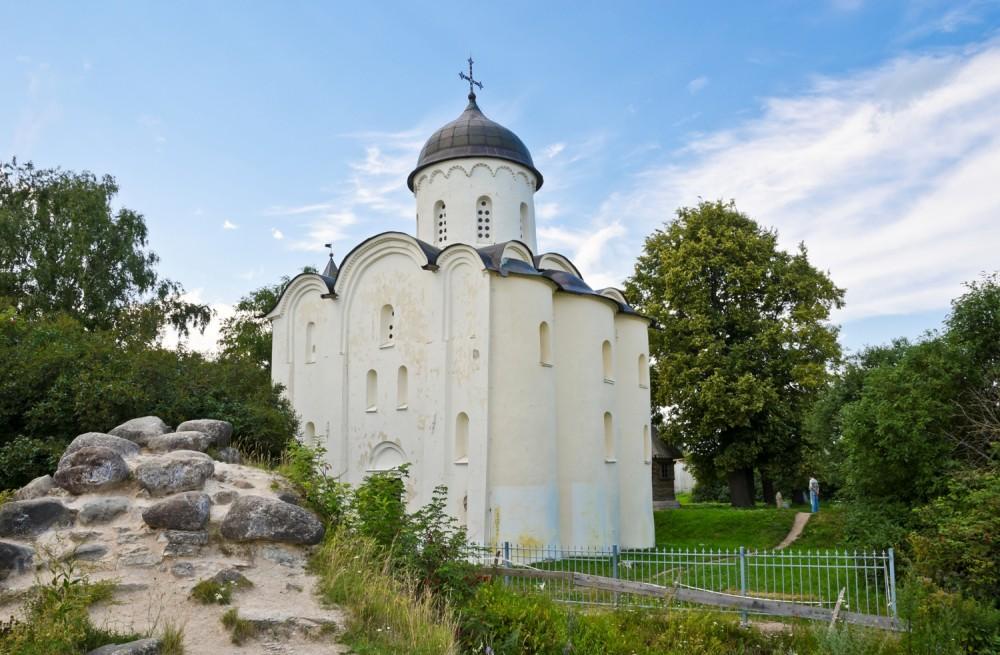 Церковь вмч. Георгия (1163-1166 гг.). Старая Ладога