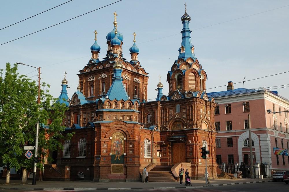 Храм вмч. Георгия. Краснодар