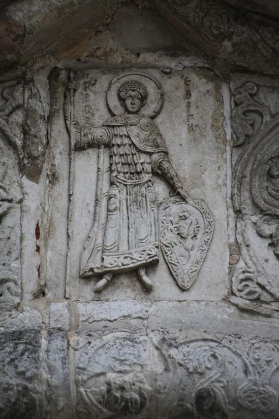 Собор вмч. Георгия Победоносца. Г. Юрьев-Польский. Барельеф св. Георгия