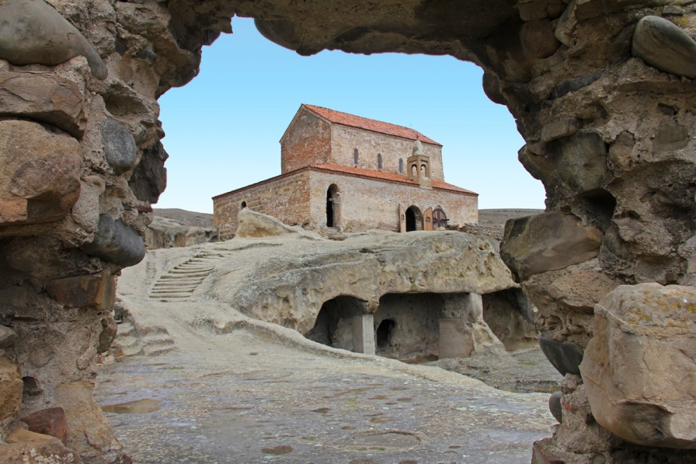 Храм вмч. Георгия Победоносца недалеко от Гори, Грузия