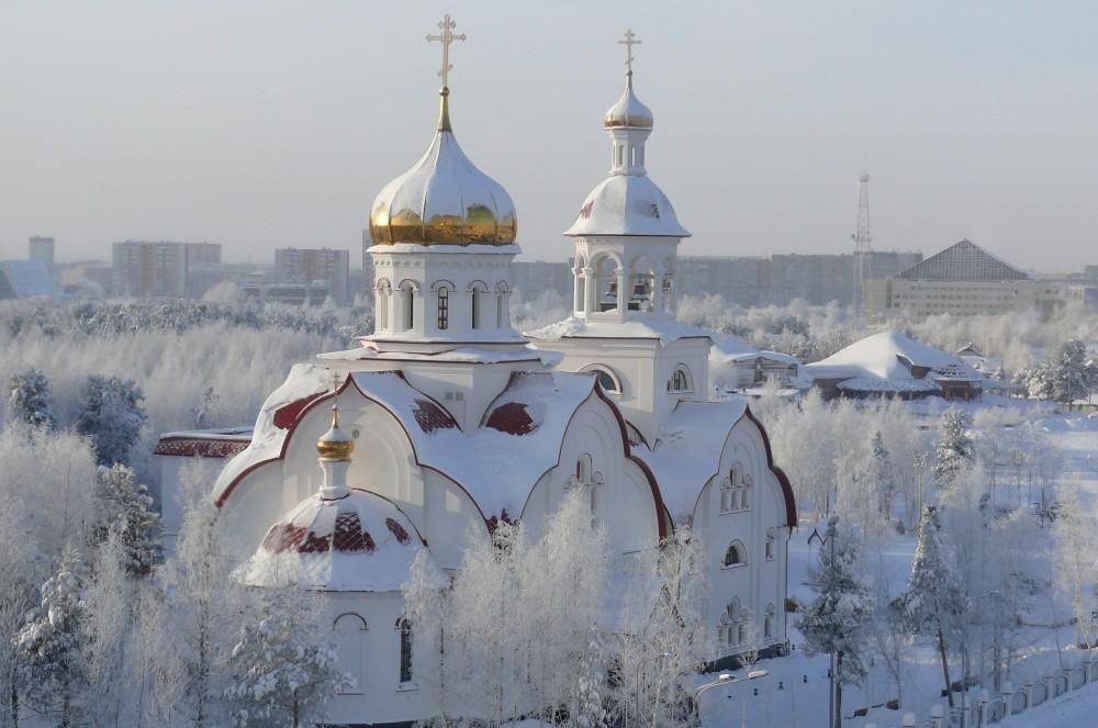 Храм вмч. Георгия. Сургут, Ханты-Мансийский АО