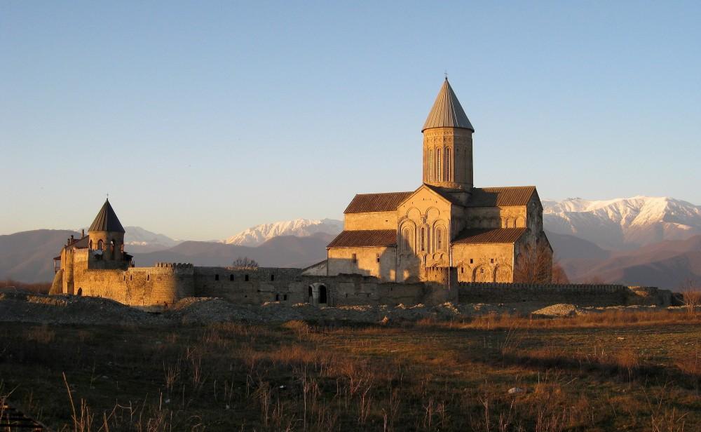 Монастырь вмч. Георгия. Алаверди, Грузия