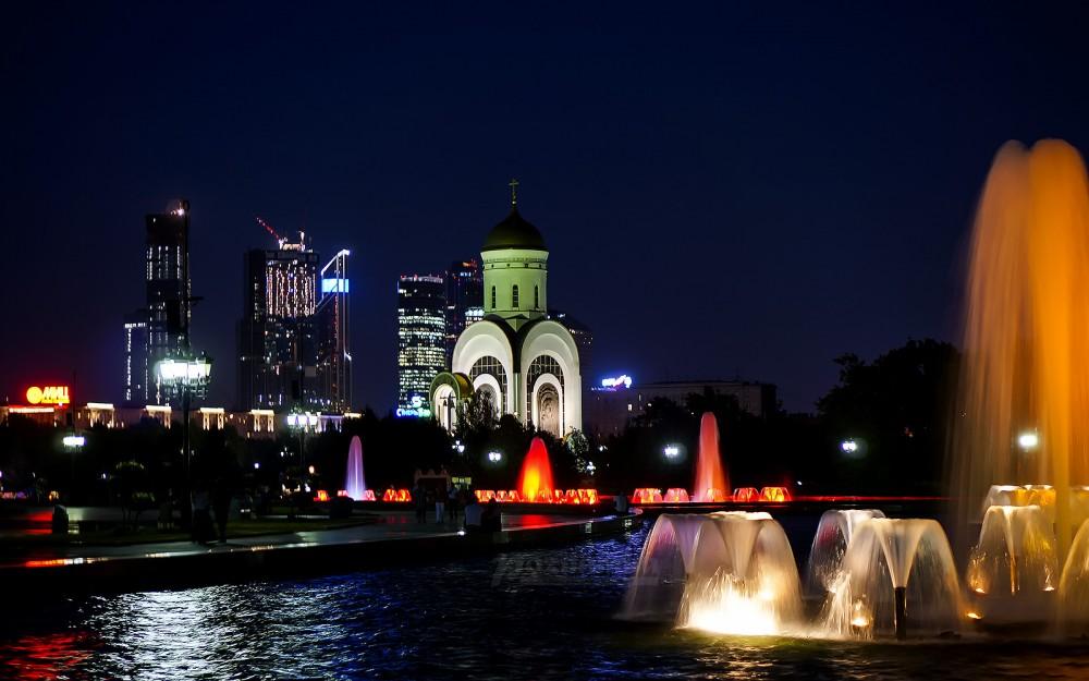 Храм вмч. Георгия Победоносца. Москва, Поклонная гора