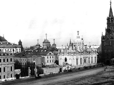 Archeologists find parts of destroyed monasteries in Moscow Kremlin