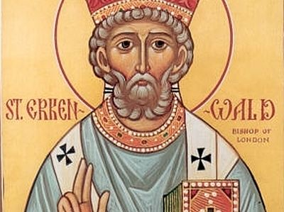 Holy Hierarch Erconwald, Bishop of London
