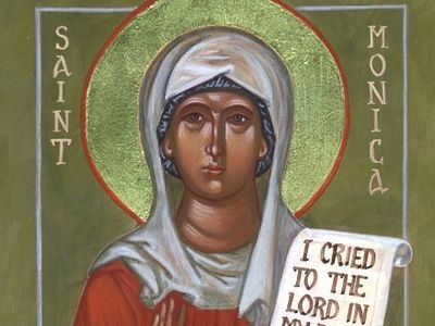 St. Monica: Model of Wifely Forbearance