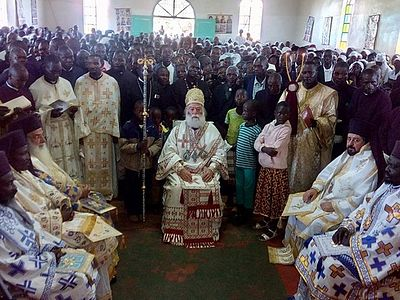 Enthronement of Bishops in Kenya - May 2016