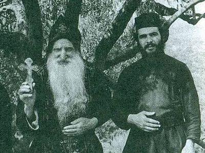 Картинки по запросу Паисий Святогорец и старец Тихон